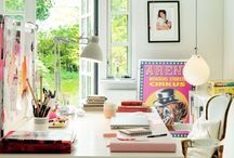 Workspace / Ideas and inspiration for a great office space at home or at work. / by Marianne Johnsgård