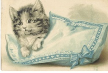 Cat ART Work / As it says, drawings or any art work of Cats / by Kim Hellinga Hammar