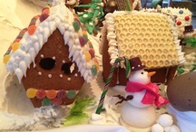 Festive Treats at Christmas / Enjoy the #Festive snow village created by talented pastry chefs. / by The Vineyard Newbury Berkshire