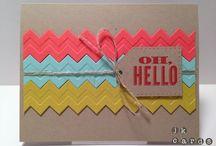 Crafty cards / by Cydne Wright