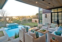 Dream Home:  Outdoor Spaces / by Dana Shear