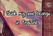 England - I love it! / by Dana Shear
