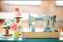 Sewing machines / I love using old sewing machines.