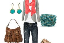 MyStyle / Cool summer colours Natural fashion style with a little bit of feminine touches. my body shape is an apple