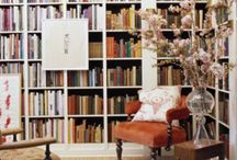 Love Books / Bookshelf's & reading areas / by Barbara Propst