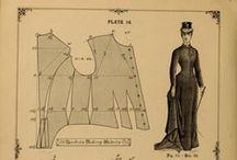 Historical Costume Patterns / by costumingdiary