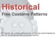Free Historical Costume Patterns / by costumingdiary.com