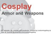 Cosplay DIY Tutorials Armor Weapons / by costumingdiary.com