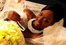 The Crystal Rose Brides / Pictures of brides wearing jewelry & accessories by The Crystal Rose
