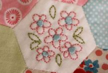Patchwork and paper piecing