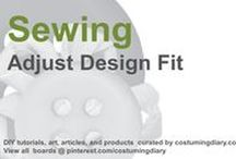 Sewing for Beginners Tutorials Adjust Design Fit / by costumingdiary.com