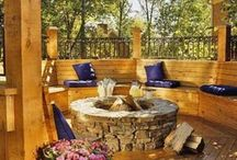 Outdoor Living / Outdoor living spaces / by Barbara Propst