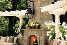 The Great Outdoors / Exterior home and landscape ideas