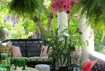 Front Porch Decor / Ideas to decorate the front of the house. / by Barbara Propst