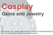 Cosplay DIY Tutorials Gems Jewelry / by costumingdiary.com