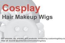 Cosplay DIY Tutorials Hair Makeup Wigs / by costumingdiary.com