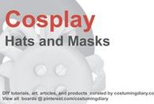Cosplay DIY Tutorials Hats Masks / by costumingdiary.com