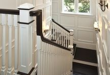 Staircase and Foyer Makeover / Ideas to update the staircase