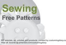 Free Sewing Patterns / by costumingdiary.com
