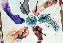 Mains / Pour donner, aider, partager et recevoir. La main, notre plus belle outil. Des images qui parlent.