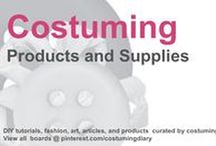 Costuming Products and Supplies / by costumingdiary.com