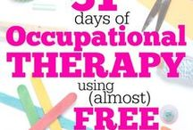 SPD - Occupational Therapy/OT / Sensory Processing Disorder - tips for/from occupational therapy