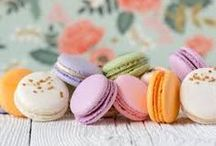 Macarons / Since my friend taught me how to make these little gems, I've become a bit obsessed!