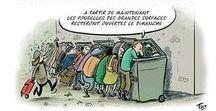 Humour / Caricatures et dessins de presse ciblent la pauvreté la solidarité et les associations.