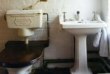 BATHROOM STYLE | Old and vintage bathrooms / #Bathrooms from the past