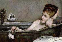 CURIOSITY | Art history & bathroom