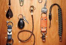 Leather goods.