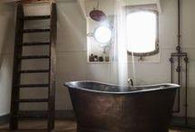 BATHROOM STYLE | Industrial chic / The wonderful atmosphere of an industrial chic bathroom