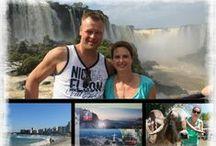 reizen / plaatsen, steden en landen waar we zijn geweest.