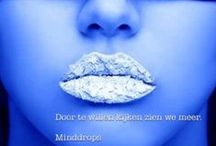 Minddrops l Marnie Krom /  ~*~ Gedachten creëren je wereld ~*~  Kijk ook eens op www.minddrops.nl