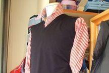Moda uomo: blu e rosso / Vestirsi casual ma con classe. #abbigliamento #moda #modena