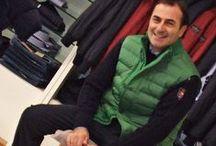 #10 Outfit del giorno / Gilet in piuma per il nostro Luca: pratici, versatili e resistenti.