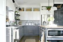 Kitchen Ideas - Decor, Projects, Makeovers - Dream Kitchen Inspiration / Decor and design ideas for kitchen  inspiration - kitchen ideas, kitchen remodel, kitchen decor, kitchen cabinets, budgeting kitchen makeover, DIY kitchen