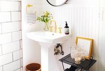 Bathroom Finishes and Decor (Small Bathrooms, Master Bathrooms and Guest Bathrooms) / Decor and design ideas for bathroom inspiration - bathroom decor, bathroom ideas, bathroom renovation, bathroom remodel, bathroom organization, small bathroom ideas