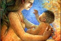 ART MOTHER AND CHILD