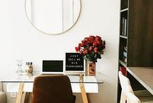 Home Office Decor Ideas / Office decor, office ideas, office organization,home office design, small space office, multifunctional office ideas