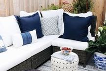 Patio Decor Ideas / Patio decor ideas on a budget, outdoor patio decor, patio furniture ideas, backyard patio decor for small patios