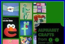 Alphabet crafts and my pre-school class / by Caroline Berry