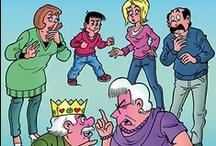 de leukste strips en cartoons / tekeningen en cartoons van mijn favoriete tekenaars.
