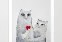 Illustration - Elena Goatelli / http://society6.com/ElenaGoatelli