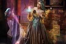 Hechiceras y hechiceros o magos