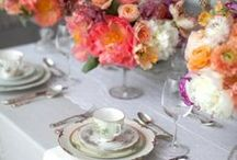 The Well Set Table. /  Where the Joy of Table Setting becomes an Art ; with Beautiful Linen, favorite  China, Earthenware, Silver ,and Christal or Glass......... and Tastefully scaled down Centerpieces!!! / by Hollandaise