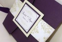 Wedding: Papper Goods / Invitations, Save the Dates, Thank You Cards, Programs