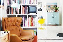 Interior mood- retro / Interior styling
