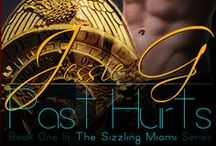 Sizzling Miami # 1 - Past Hurts (Alaric & Davin) / Everything and anything that I used as inspiration for Past Hurts - character inspiration, locations, book trailer, posters, cover and more!