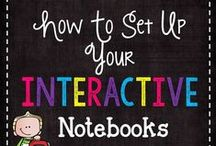 Interactive Notebooks / Interactive notebooks are a great way to keep students engaged in their learning while they are taking notes.  Interactive notebooks can then be used as a study guide, for a reference material, or as a resource to look back on throughout the year.